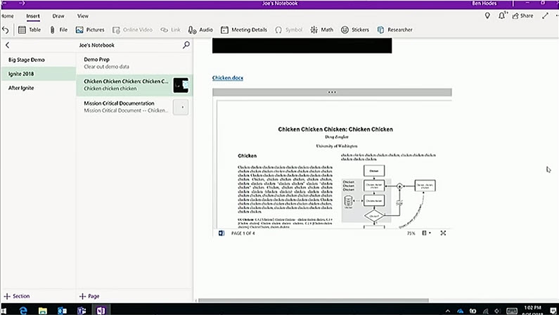 Upcoming features to OneNote for Windows 10 | OneNote-Blog