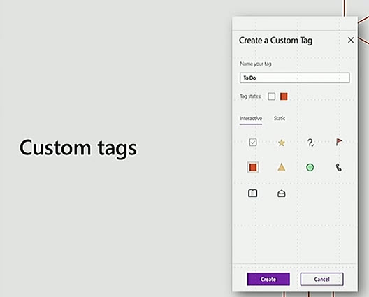 onenote 2016 mac tags